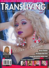 Front cover of Transliving Issue 46 magazine