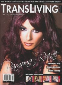 Front cover of Transliving Issue 47 magazine