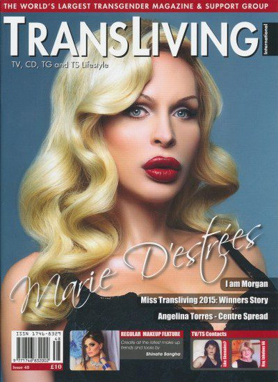 Front cover of Transliving Issue 48 magazine