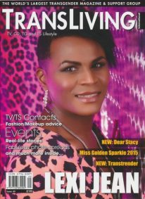 Front cover of Transliving Issue 49 magazine