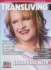 Front cover of Transliving Issue 51 magazine