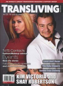 Front cover of Transliving Issue 52 magazine