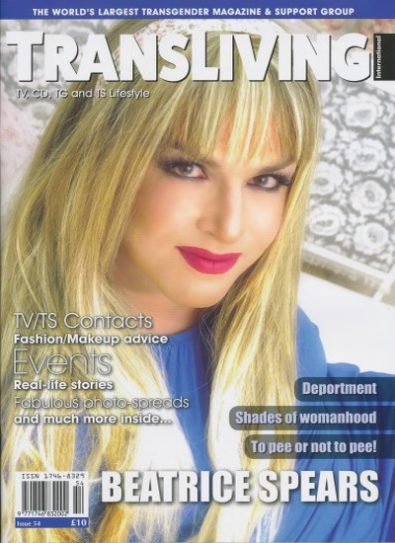 Front cover of Transliving Issue 54 magazine