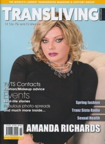 Front cover of Transliving Issue 55 magazine