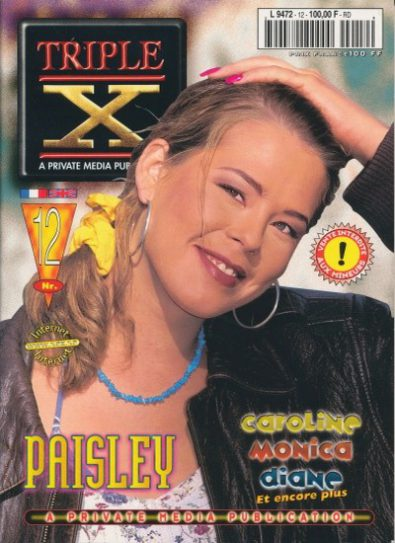Front cover of Private Triple X 12 magazine