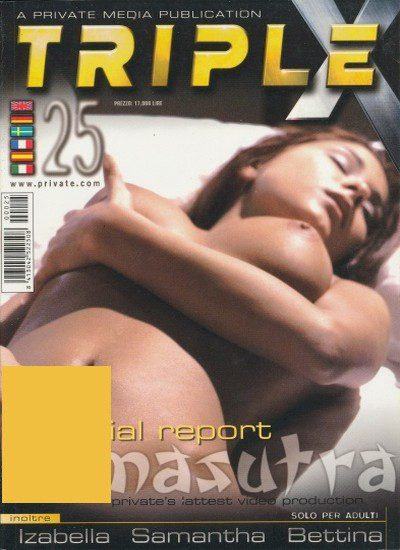 Front cover of Private Triple X 25 magazine