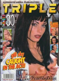 Front cover of Private Triple X 30 magazine