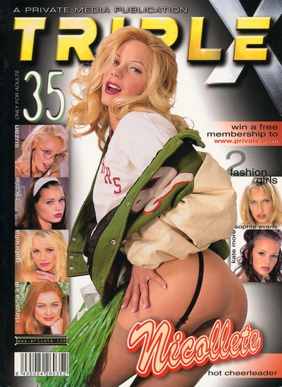 Front cover of Private Triple X 35 magazine