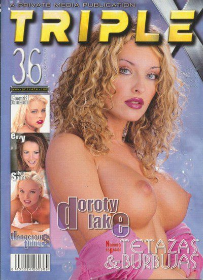 Front cover of Private Triple X 36 magazine
