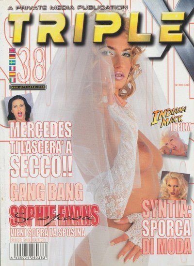 Front cover of Private Triple X 38 magazine