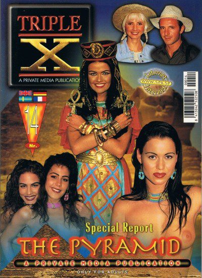 Front cover of Private Triple X The Pyramid magazine