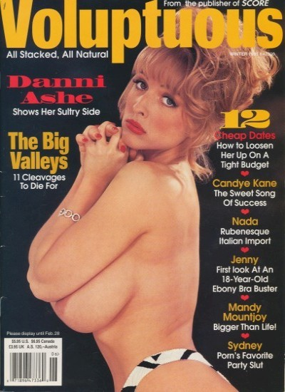 Front cover of Voluptuous Winter 1995 magazine