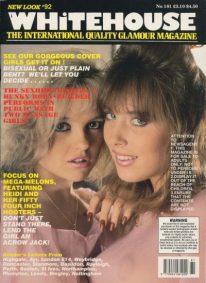 Front cover of Whitehouse International 181 magazine