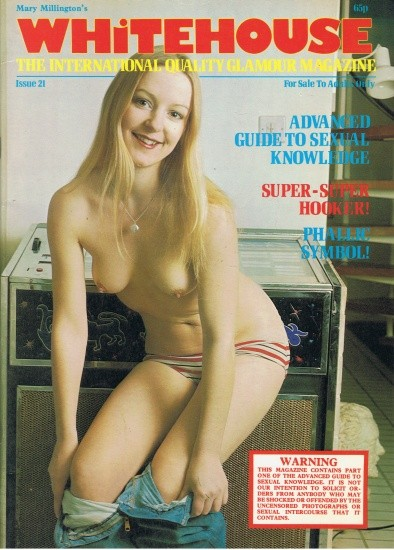 Front cover of Whitehouse No 21 magazine