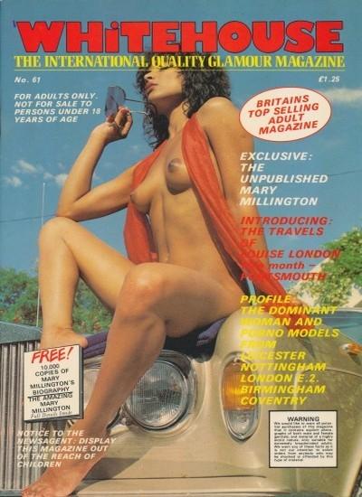 Front cover of Whitehouse International 61 magazine