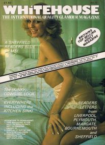 Front cover of Whitehouse No 72 magazine