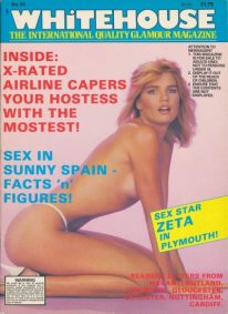 Front cover of Whitehouse International 95 magazine