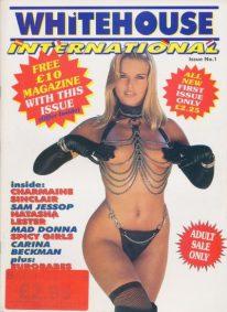 Front cover of Whitehouse International 1 magazine
