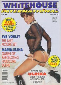Front cover of Whitehouse International 10 magazine