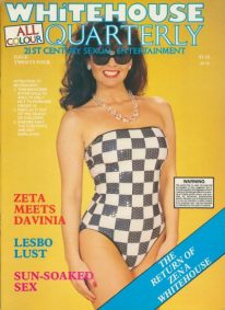 Front cover of Whitehouse Quarterly 24 magazine