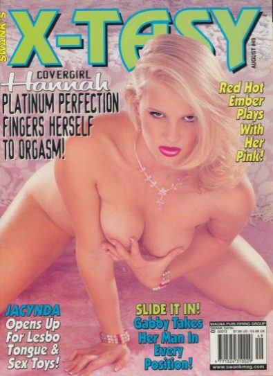 Front cover of X-Tasy August No 49 magazine