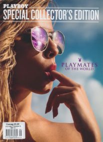 Front cover of Playboy Playmates of The World 2015 magazine