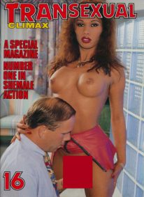 Front cover of Transexual Climax 16 magazine