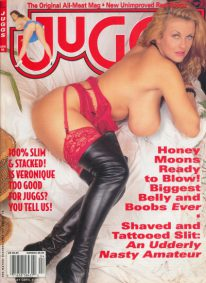 Front cover of Juggs April 1998 magazine