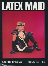 Front cover of Latex Maid 1 magazine
