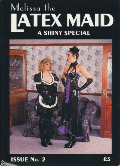 Front cover of Latex Maid 2 magazine
