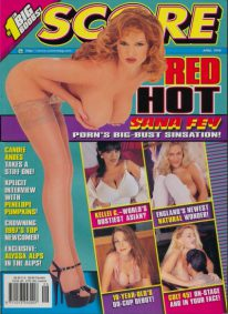 Front cover of Score April 1998 magazine
