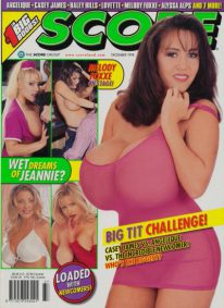 Front cover of Score December 1998 magazine