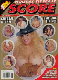 Front cover of Score Holiday 1998 magazine