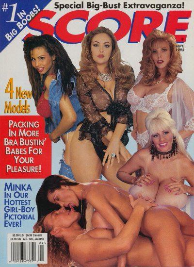 Front cover of Score September 1995 magazine