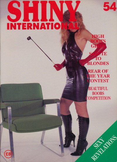 Front cover of Shiny 54 magazine