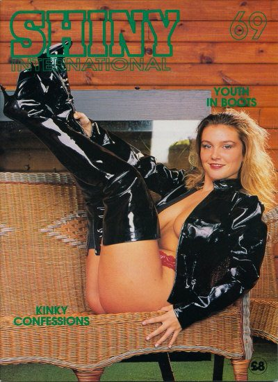 Front cover of Shiny 69 magazine