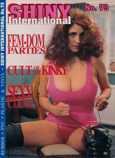 Front cover of Shiny 73 magazine