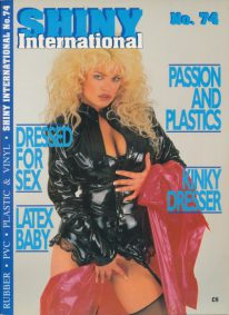 Front cover of Shiny 74 magazine
