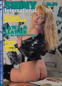 Front cover of Shiny 75 magazine