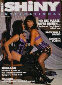 Front cover of Shiny 80 magazine