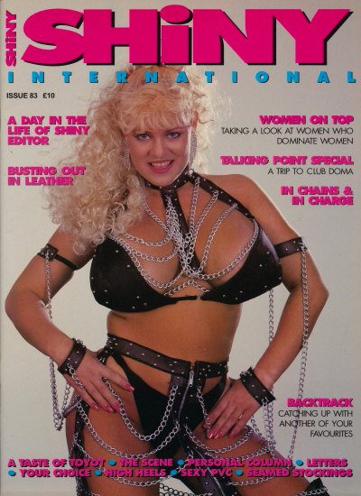 Front cover of Shiny 83 magazine