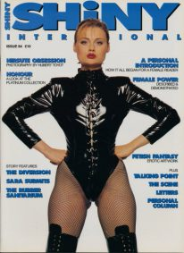 Front cover of Shiny 84 magazine