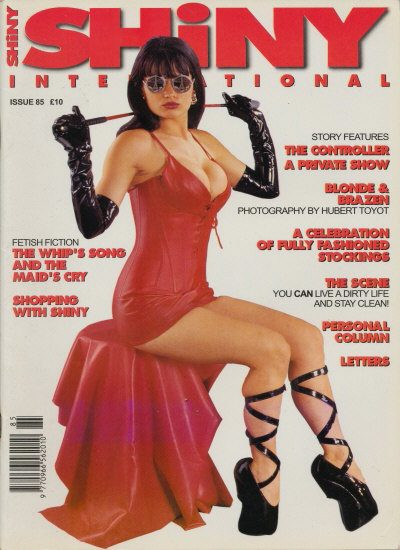 Front cover of Shiny 85 magazine