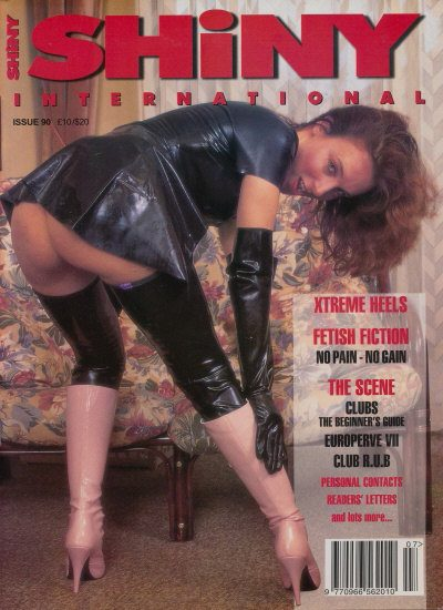Front cover of Shiny 90 magazine
