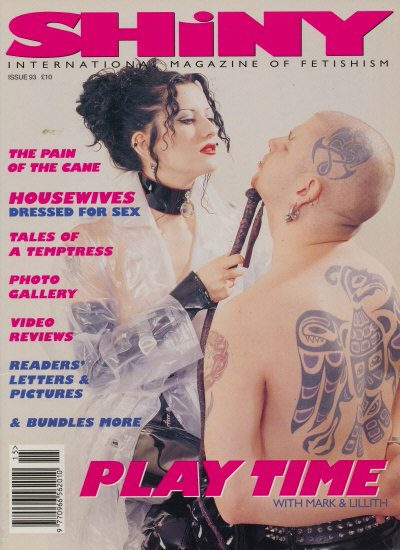 Front cover of Shiny 93 magazine