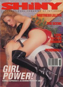 Front cover of Shiny 94 magazine