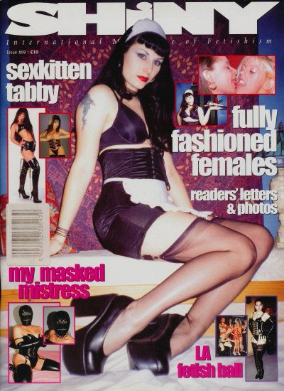 Front cover of Shiny 99 magazine