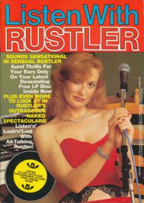 Front cover of Listen with Rustler Volume 3 No 4 magazine