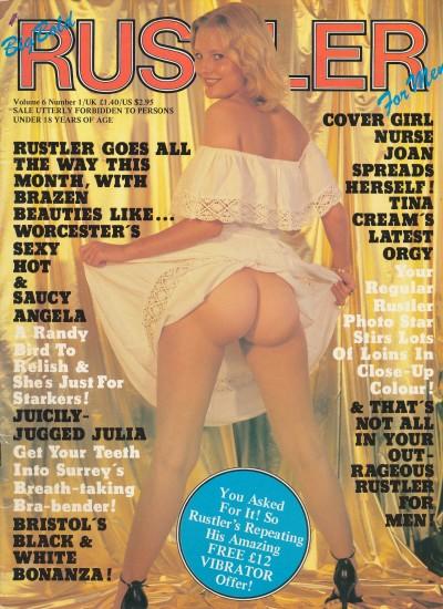 Front cover of Rustler Volume 6 No 1 magazine