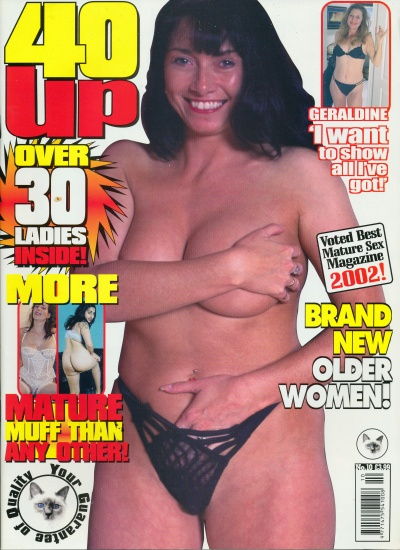Front cover of 40 Up No 10 magazine